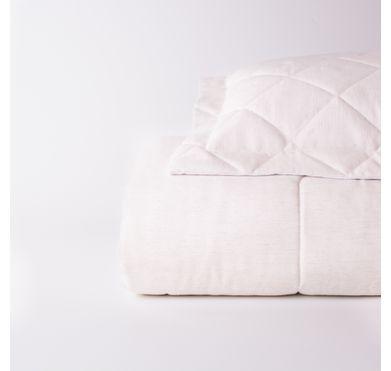 Edredom Linho Modern Of White