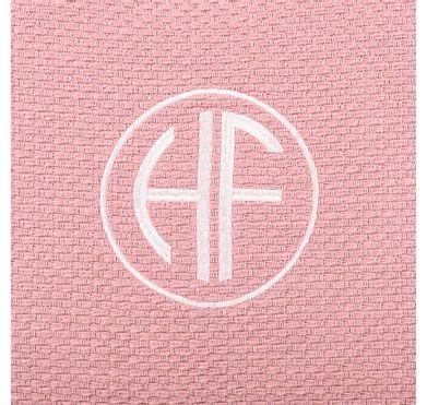 Almofada Veludo Mini Tricot Rose Monograma Circle